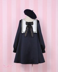 --New Arrival: Holy Night College Style Lolita OP Dress --In Stock >>> http://www.my-lolita-dress.com/holy-night-college-school-style-lolita-op-dress-bea-31