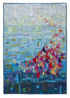 Quilt Fest Contemporary Q Fabric Art, Art, Fiber Art