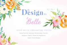 Posted by @newkoko2020 The Design Kit - Belle by CreateTheCut on @creativemarket