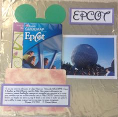 Epcot cover page