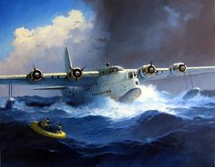 Short S.25 Sunderland comes to rescue by kitchener.lord, via Flickr. As well as the convoy protection & anti submarine patrols, the Sunderland also made many air sea rescues, often in seemingly impossible seas.