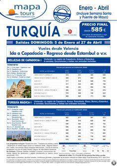 Turquia Bellezas de Capadocia I desde Valencia **Precio Final desde 585** ultimo minuto - http://zocotours.com/turquia-bellezas-de-capadocia-i-desde-valencia-precio-final-desde-585-ultimo-minuto/