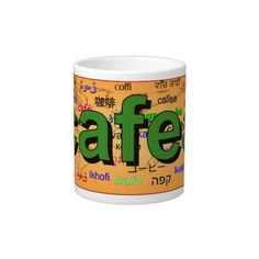 Shop cafea - Coffee in Romanian, green. Large Coffee Mug created by Parleremo. Romanian Language, Extra Large Coffee Mugs, Goodies, Map, Sweet Like Candy, Gummi Candy, Location Map, Maps, Sweets