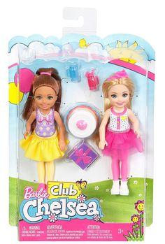 Mattel Inc. Barbie Club Chelsea Dolls - Pack of 2 Barbie Chelsea Doll, Barbie Doll Set, Barbie Sets, Doll Clothes Barbie, Barbie Doll House, Barbie Dream, Mattel Barbie, Barbie Style, Accessoires Barbie