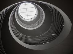 amazing spiral staircase in Helsinki University Library, Finland (2)