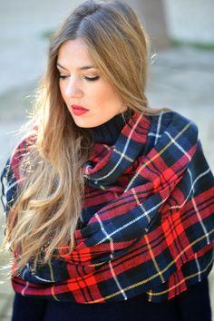 TARTAN SCARF | Mi aventura con la moda