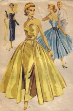 FROM VINTAGE SEWING PATTERN