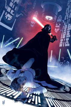 Star Wars - Dark Vador : La Purge Jedi by John Ostrander Ca. Star Wars Sith, Star Wars Dark, Star Trek, Star Wars Fan Art, Star Wars Comics, Adam Hughes, Reine Amidala, Comic Books Art, Comic Art