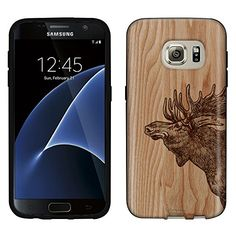 Find amazing Samsung Galaxy Case, Snap On Cover by Trek Sketched Moose on Wood Case moose gifts for your moose lover. Galaxy S7, Galaxy Phone, Samsung Galaxy, S7 Case, Moose, Trek, Cover, Gifts, Elk