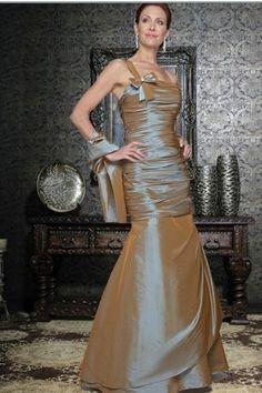 Floor Length Sheath/Column Taffeta Mother Of The Bride Dresses Under 100