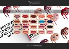 MATTE Singles Collection at MAC Cosimetics • Sims 4 Updates