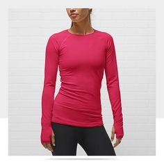 promo code dac09 cfdf0 Nike Pro Hyperwarm Dri-FIT Max Fitted Women s Crew