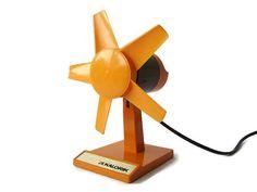 Vintage Kalorik electrical desk fan orange and by VintageBreda Vintage Fans, Vintage Decor, Etsy Vintage, Desk Fan, Heating And Cooling, Decoration, Addiction, Posts, Etsy Shop