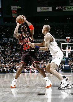 Michael Jordan Chicago Bulls Reggie Miller Indiana Pacers