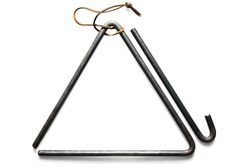 Forged Steel Dinner Triangle -- I must have one of these for my porch! And it's cheap