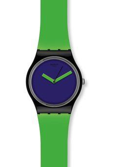 Montre Swatch Green'n Violet