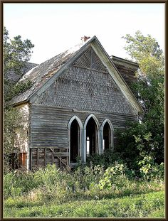 country church, Yewed, Alfalfa County, Oklahoma
