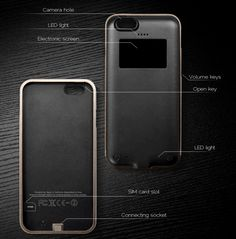 bezalel coque iphone 6 black