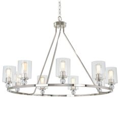 9 Light Chandelier i