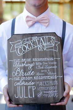 Wedding advice: Tips for planning your wedding bar, and 5 fun cocktail ideas - Wedding Party