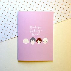 Golden Girls Card  Thank You For Being A Friend   by shopmadesigns