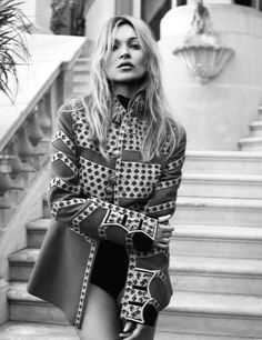 Kate Moss by Craig McDean for Vogue UK May 2016