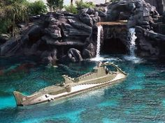 20,000 Leagues under the Sea in Fantasyland a missed attraction from the Magic Kingdom Walt Disney World