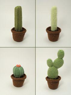 Cactus al crochet - Imagui