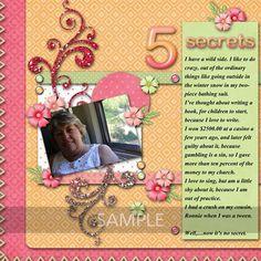 Digital Scrapbooking Kits | Rainbow of Life-(LinJane) | Everyday, Family, Friends, Girls, Memories | MyMemories