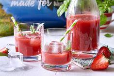 Smoothie, Vodka, Panna Cotta, Alcoholic Drinks, Wine, Ethnic Recipes, Glass, Food, Alcohol