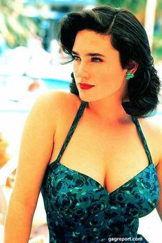 Jennifer Connelly; 1940's hair
