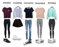 teenager outfits for school cute teenager outfits ; teenager outfits for school ; teenager outfits for school cute Teenager Outfits, Teenager Fashion, Teenager Mode, Teen Fashion Outfits, Fall Outfits, Tween Fashion, Fashion Ideas, Latest Fashion, Weekly Outfits
