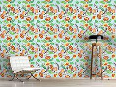 Design #Tapete Blütensturm Fantasia