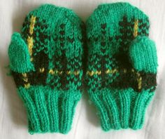 Ravelry: Baby Wallace Mittens pattern by Wendy Poush
