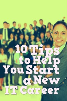10 Tips to start career in information technology via @jobcluster