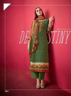 Buy Kesar Karachi Shahin Autumn Winter Collection Suit 4004 Winter Tops, Fall Winter, Autumn, Salwar Suits, Salwar Kameez, Cool Things To Buy, Stuff To Buy, Winter Collection, Suits For Women