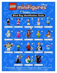Identification Guide to Lego Disney Minifigure Blind Bag Codes « Pop Critica | Pop Critica