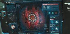 Iron man interface