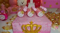 festa da princesa rosa com dourado - Pesquisa Google