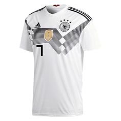 adidas KROOS Germany Home Soccer Stadium Mens S/S Jersey World Cup Russia 2018 L *** Continue to the product at the image link. (This is an affiliate link). World Cup Russia 2018, World Cup 2018, Fifa World Cup, Adidas Vintage, Germany Players, Germany Football, Soccer Stadium, Football Kits, Football Soccer