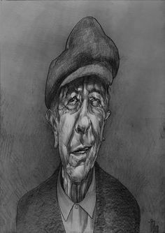 Portraits and Caricatures by Philipp Banken, via Behance