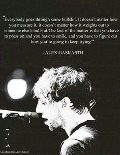 Alex Gaskarth (: