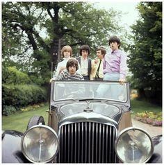 The Rolling Stones   Brian Jones, Mick Jagger, Bill Wyman, Charlie Watts and…