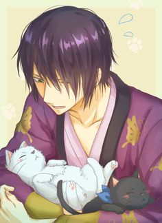 Gintama Wallpaper, Character Design Animation, Cute Anime Boy, Anime Chibi, Anime Style, Manga Art, Neko, Anime Characters, Geek Stuff