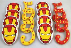Ironman & Number Cookies - $35.00/dozen