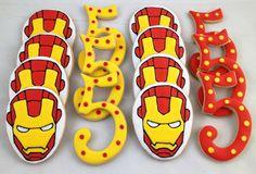 Ironman & Number Cookies - $35.00/dozen