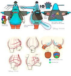 Inside Out Concept Art by Disney Pixar                                                                                                                                                                                 More