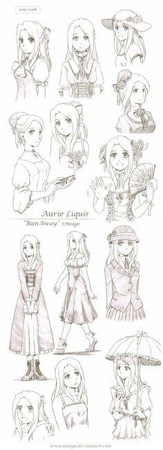 Antes de criar um personagem com uma simples blusa branca e uma calça dinjs pense bem, porque olha só a variedade de roupas para fazer um...