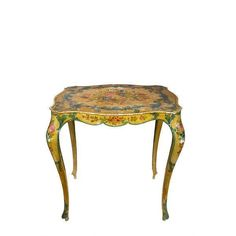 Antique Side Table Painted Table Wood Side Table Antique Furniture... ($370) ❤ liked on Polyvore featuring home, furniture, tables, accent tables, painted side tables, painted wood end tables, wooden table, painted wood furniture and wooden painted furniture #antiquefurniture