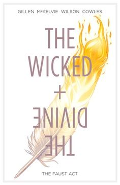 The Wicked + The Divine, Vol. 1, The Faust Act by Kieron Gillen: Strange graphic novel, nothing special from the point of view of the illustrations,but it is rather a different discourse regarding the story, but, as innovative as it seem to me, I do not like is that much.